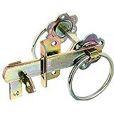 GAH-Alberts 210250 tuinpoortsluiting, voor hoge poorten of vlechtwerkdeuren, elektrolytisch geel verzinkt