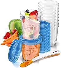 Philips Avent SCF721/20 Aufbewahrungssystem für Babynahrung, 20er Pack (10x180 ml, 10x 240 ml)