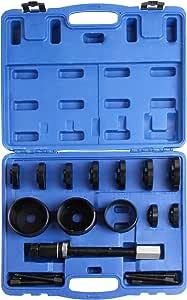 Llctools 19 Tlg Radlager Werkzeug Set Radlagerwerkzeug Radnabe Abzieher Ausdrücker Montage Demontage Auto