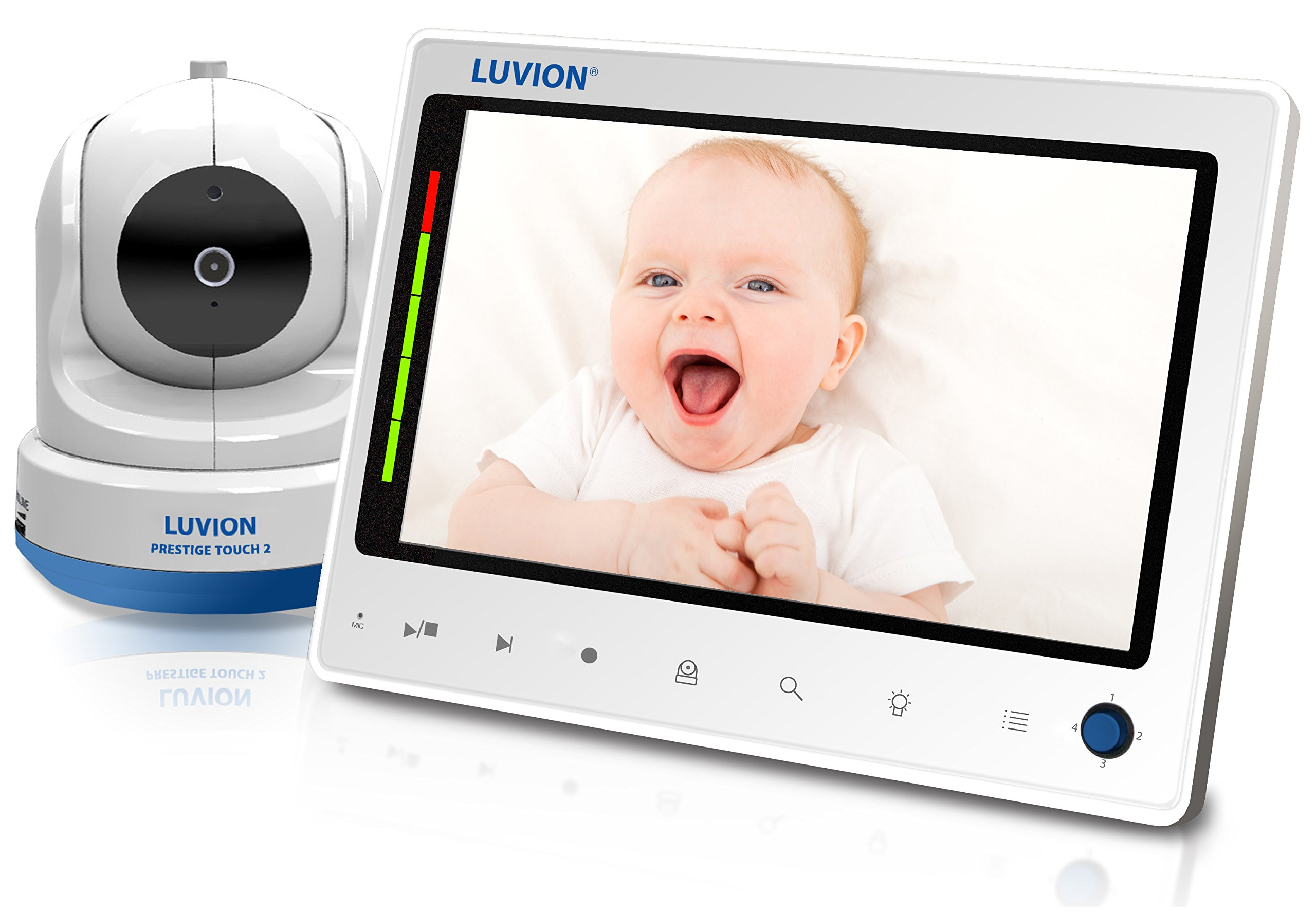 Luvion Prestige Touch 2 Video Baby Monitor - Mother & Baby Best Monitor 2017