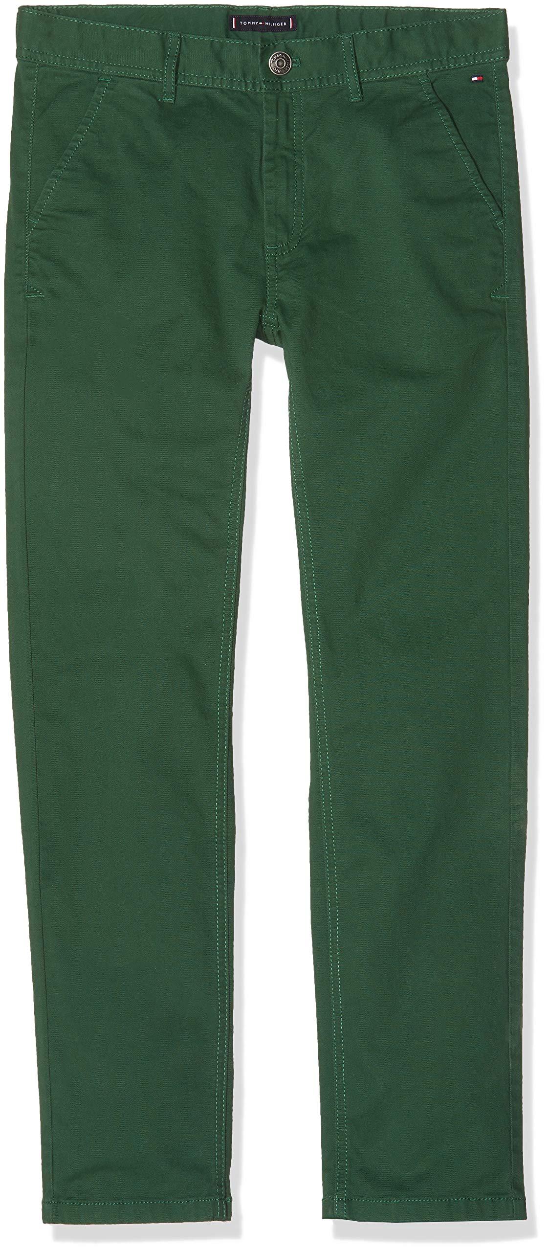 Tommy Hilfiger Essential Slim Chinos Ostw PD Pantalones para Niños