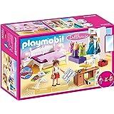 PLAYMOBIL Dollhouse 70208 Dormitorio, con Efectos de Luz, A Partir de 4 años
