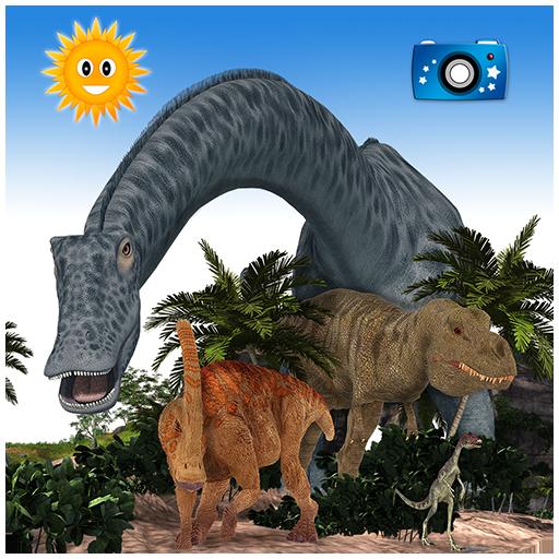 Finde sie alle: Dinosaurier und prähistorische Tiere - Pädagogisches Spiel für Kinder - Entdeckung anhand von Fotos, Puzzles und Videos! Tier-kinder-spiele