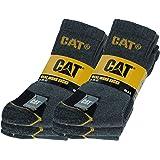 Caterpillar Calze da Lavoro Uomo CAT 6 PAIA Antinfortunistiche Rinforzate su Tallone e Punta con Trama Rinforzata CAT Filati