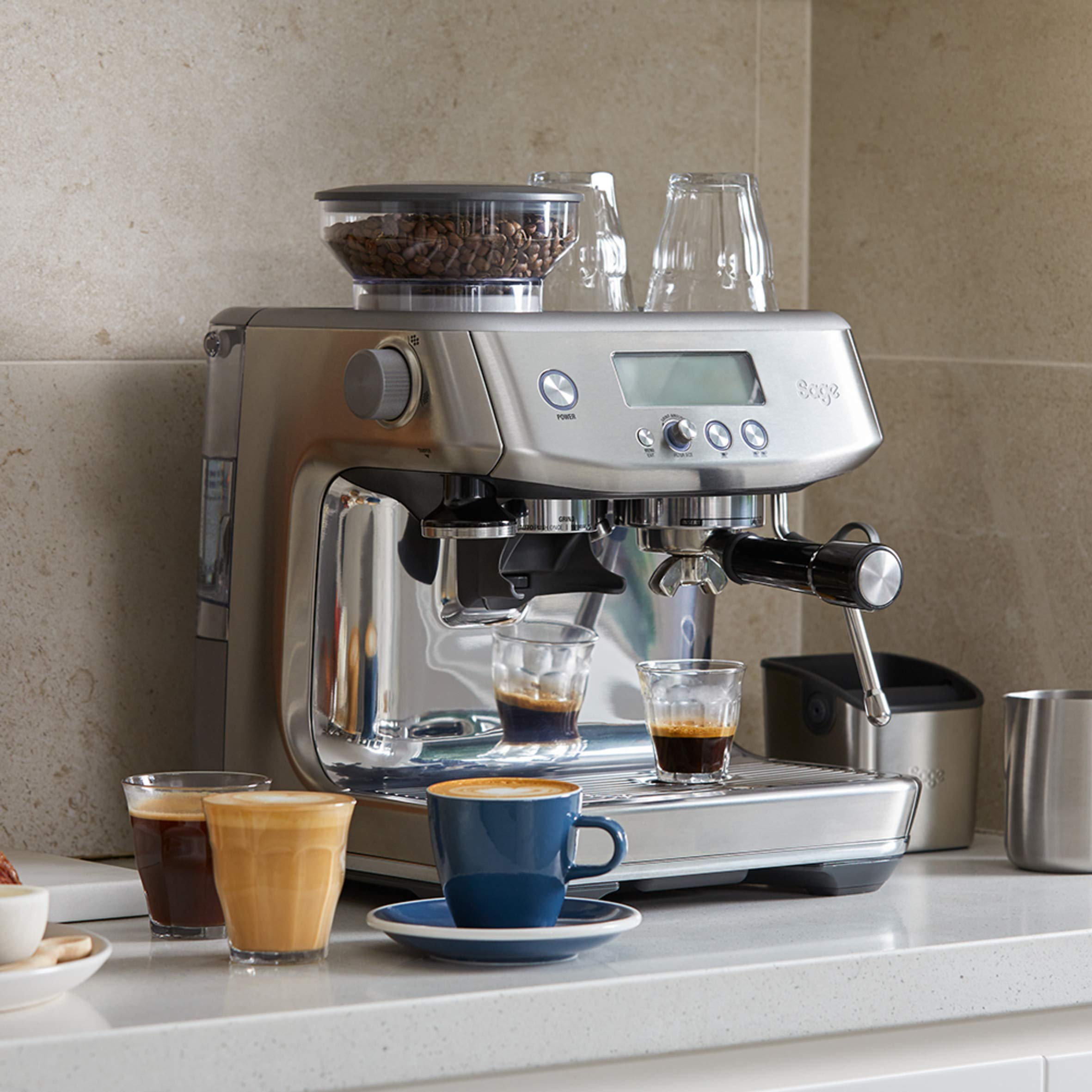 Sage-SES875BKS-The-Barista-Express-Machine