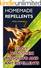 Homemade Repellents: 20 DIY Non-Toxic Mosquito And Ant Repellents