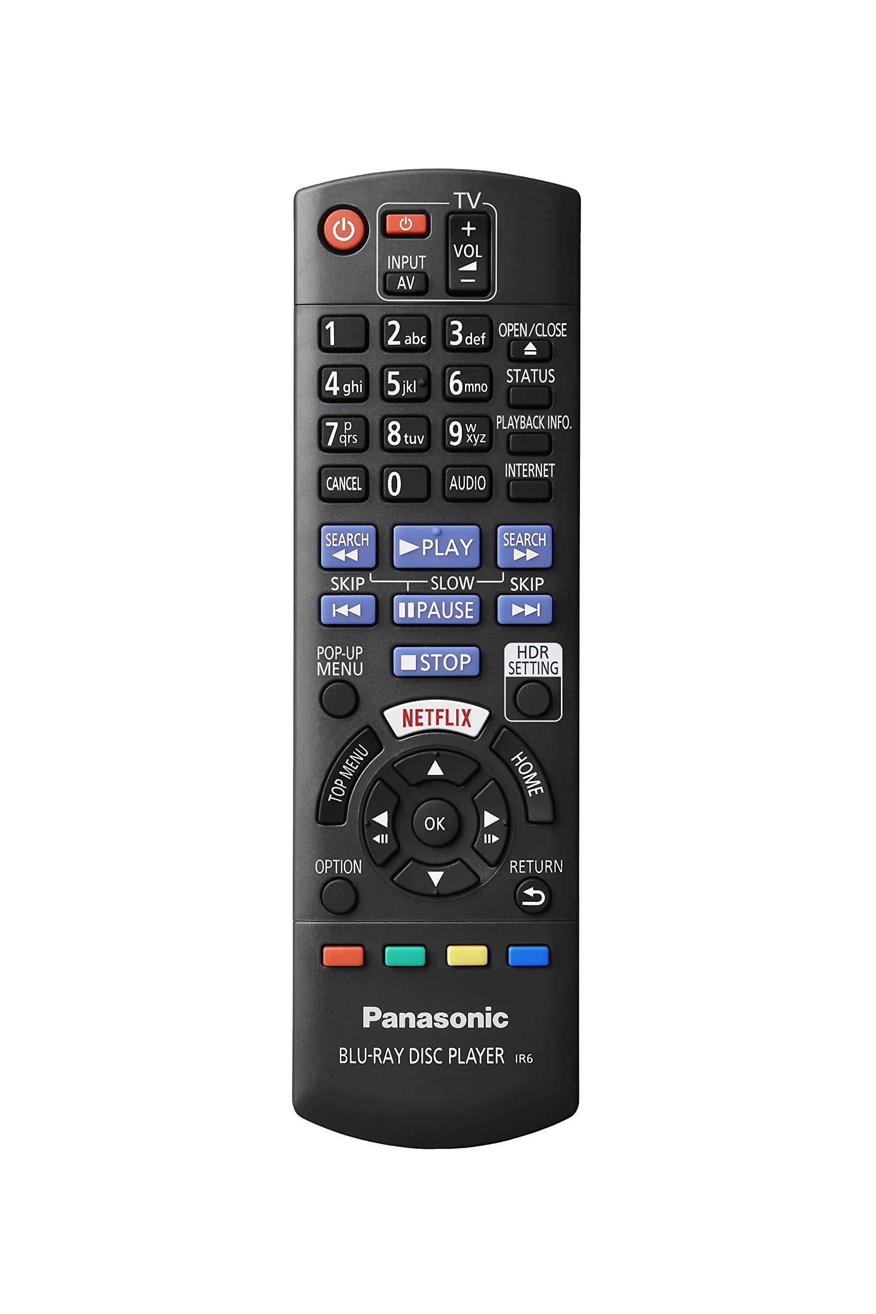 81AmgX4hC8L - Panasonic DP-UB820EB-K Ultra HD Blu-Ray Player - Black