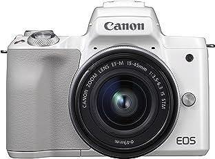 Canon EOS M50 weiß EF-M 15-45 Kit