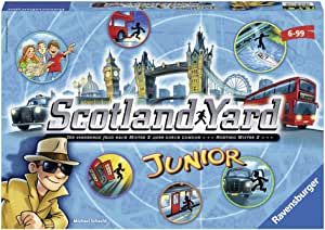 Ravensburger - 22289 - Jeu De Réflexion - Scotland Yard Junior