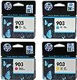 HP 903Noir/cyan/magenta/jaune cartouches d'encre pour Imprimante HP Officejet, HP Officejet PRO