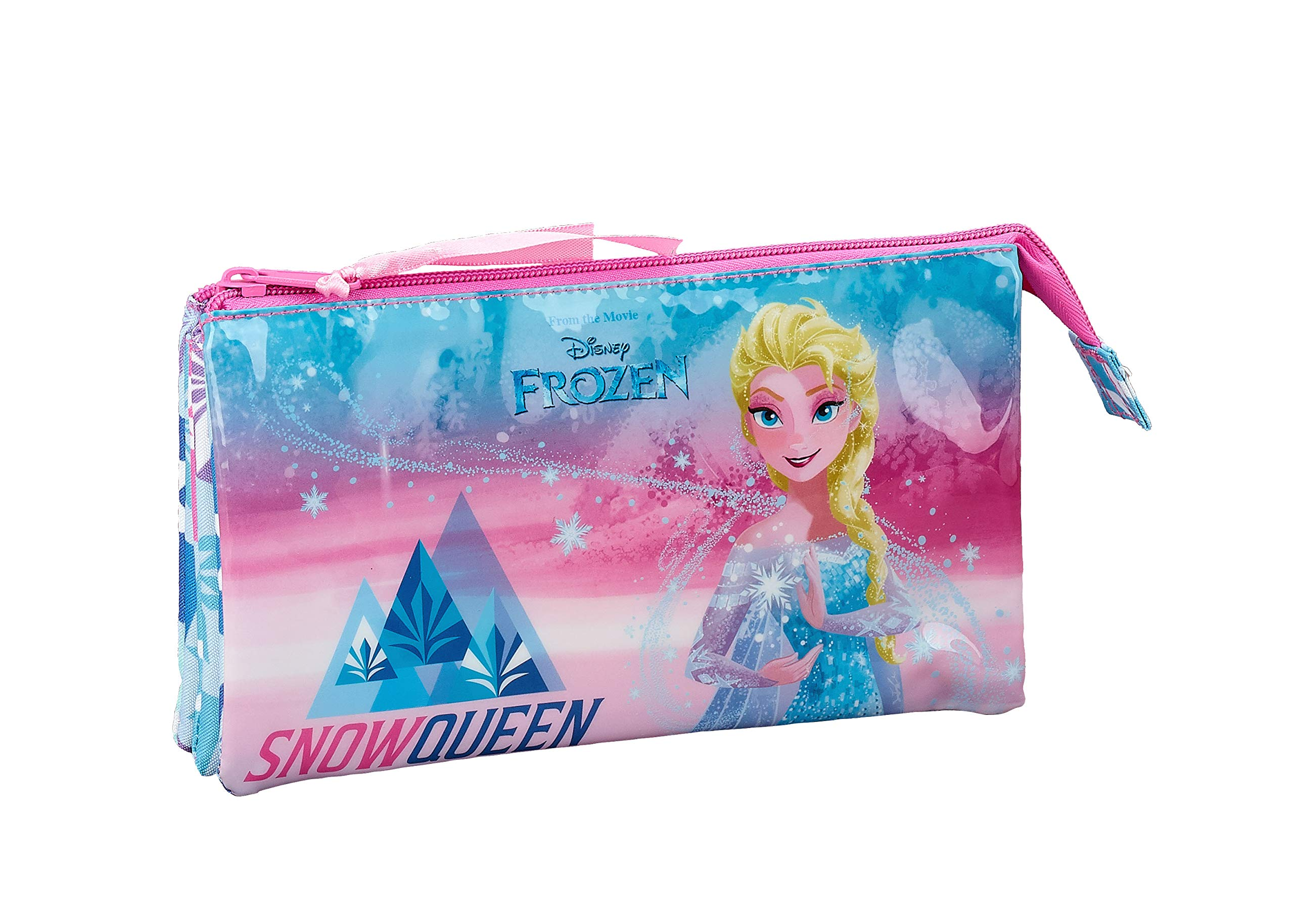 Frozen «Ice Magic» Oficial Estuche Escolar 220x30x100mm