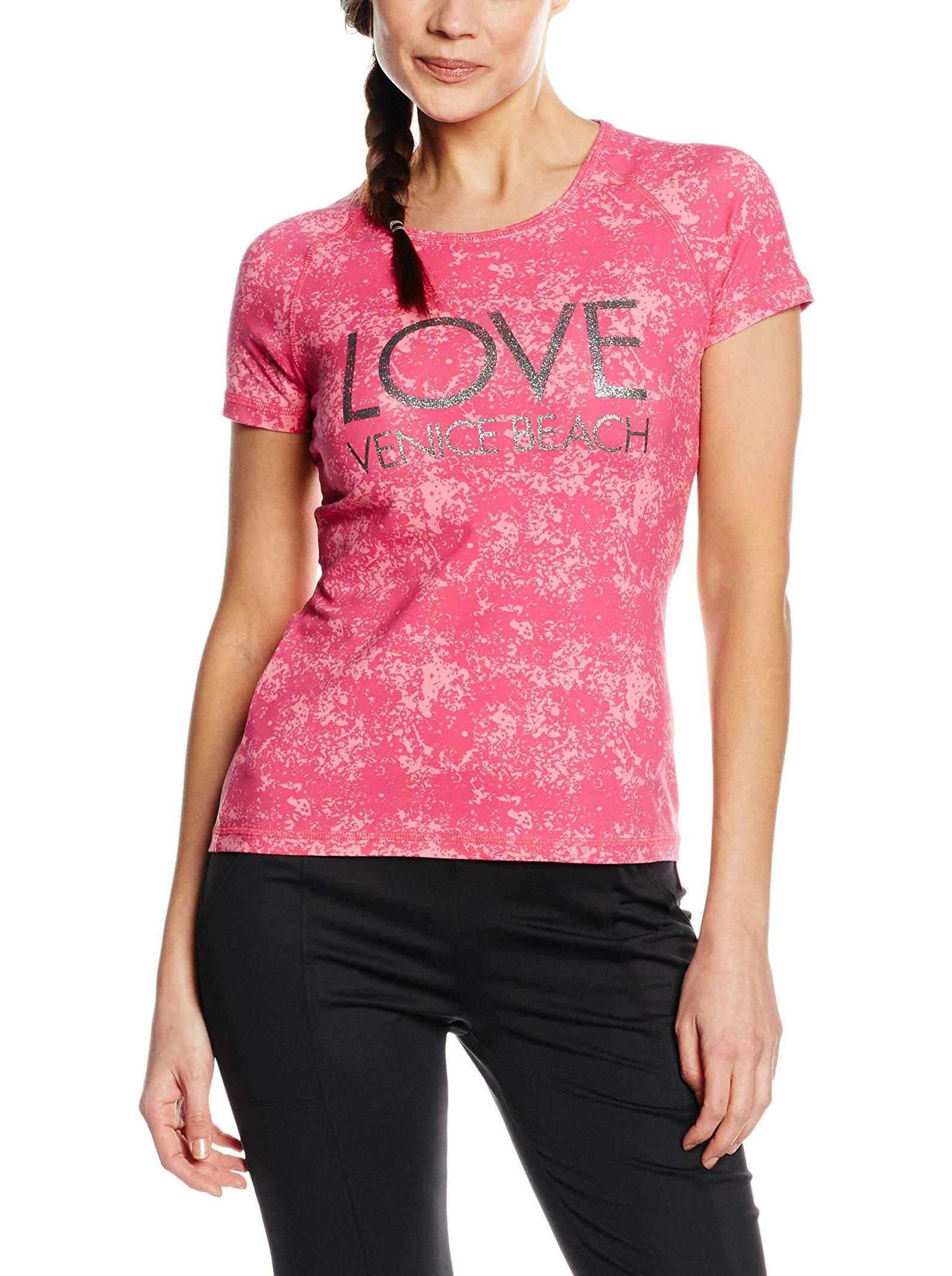 Venice Beach Donna T Shirt Alexa, Donna, T Shirt Alexa, Cherries Jubilee Allover, S