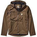 Carhartt Men's Hooded Rough Cut Jacket (Regular and Big & Tall Sizes) Work Utility Outerwear