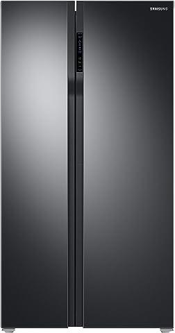 Samsung 604 L Frost Free Side by Side Refrigerator RS55K50A02C/TL, Black, Inverter Compressor