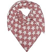 Zwillingsherz Dreieckstuch mit Baumwolle- Hochwertiger Schal im dezentem Sternendesign für Damen Jungen und Mädchen…