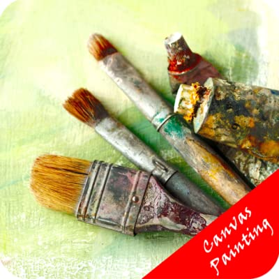Canvas Painting Ideas - Great Art Form produced by Global Apps - quick delivery from UK.