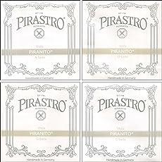 Pirastro Piranito Full-Size Viola String Set Medium