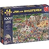 JUMBO Puzzle 01491 Der Tiergarten, Jan van Haasteren, 1000 Teile