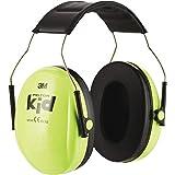 3M Peltor Kid Cache-oreilles vert fluo - Protection auditive pour enfants avec bandeau réglable pour un bruit jusqu'à 98dB -