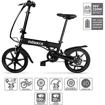 nilox x2 e bike elektrofahrrad herren damen pedelec e. Black Bedroom Furniture Sets. Home Design Ideas