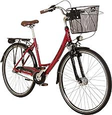 Galano 28 Zoll Prelude Citybike Stadt Fahrrad Licht 3 Gang Nexus
