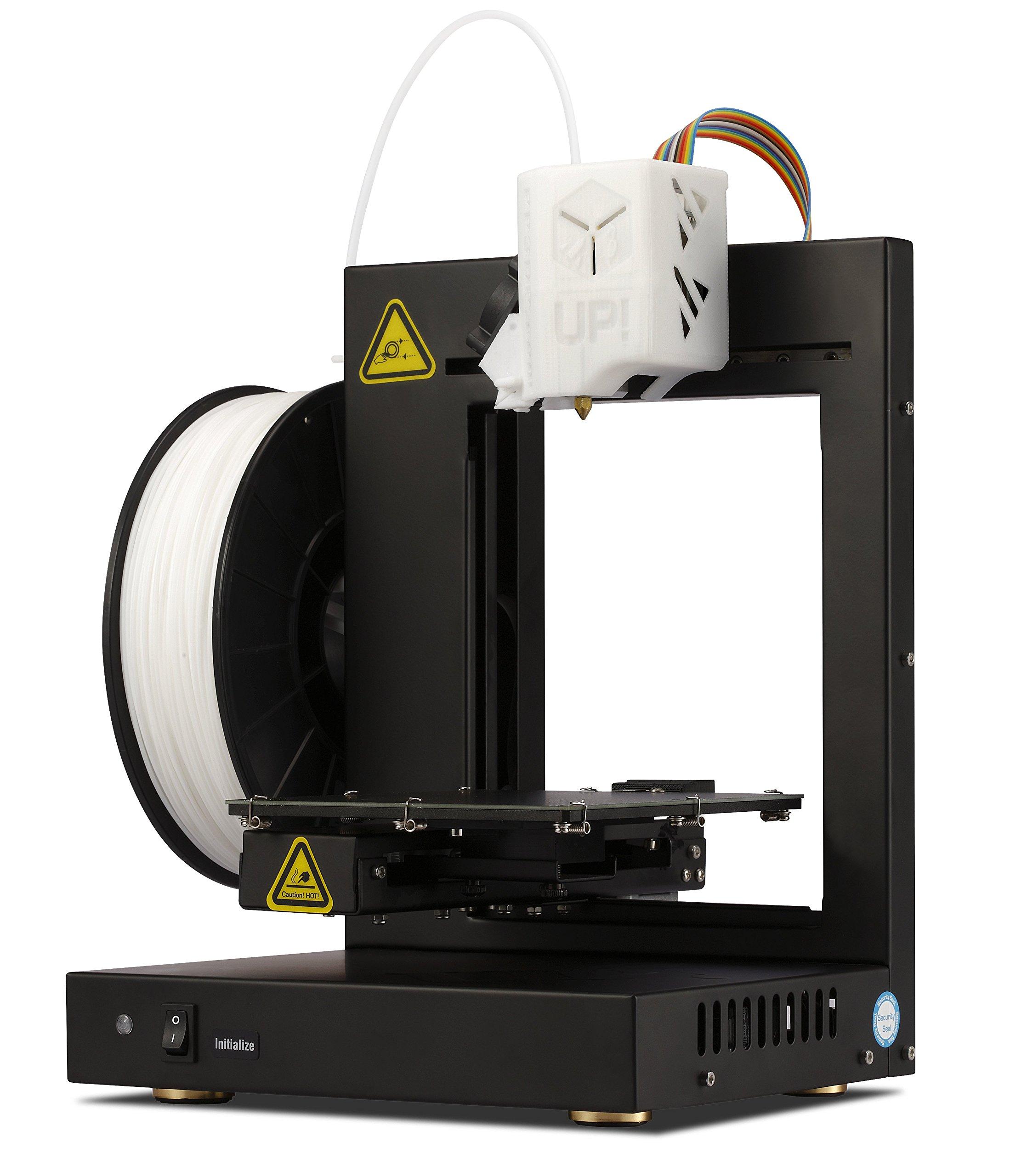 PP3DP Up. Plus2Impresora 3d de alta calidad con Starter Set Incluye software Negro