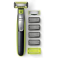 Philips QP2630/30 OneBlade Visage & Corps, 2 lames, 4 sabots barbe, 1 sabot corps inclus