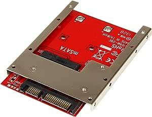 "Startech.Com Convertitore Adatattore SSD Msata a Sata da 2.5"""