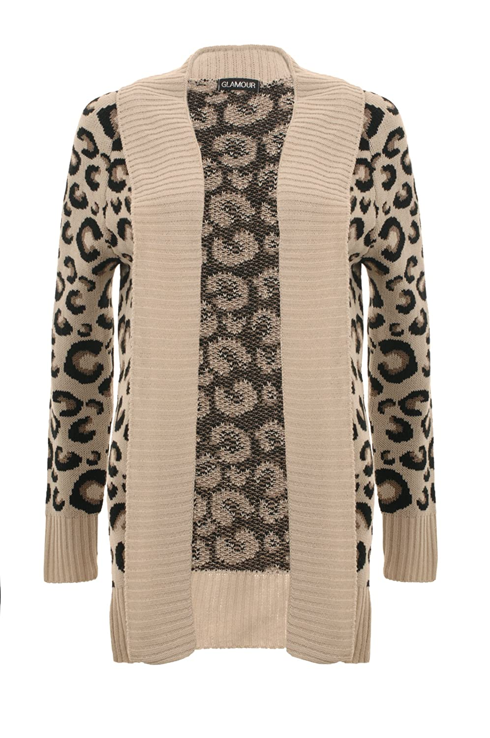 Girltalkfashions Leopard Print Cardigan Animal Print Over Sized ...