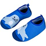 Kids Beach Swim Shoes Water Sport Shoes Barefoot Skin Boys Girls Baby Non-Slip Quick Dry Barefoot Aqua Socks Pool Surfing Yog