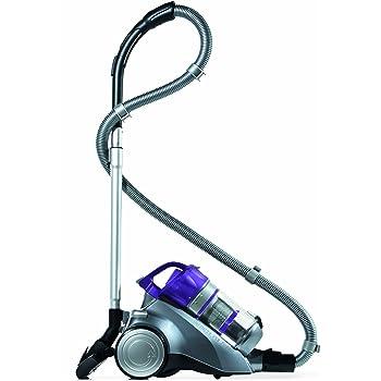 Dirt Devil M5036-1 Staubsauger Infinity VS8 Turbo, inklusiv Turbo- und Parkettbürste / 1600 Watt / beutellos / Graphit / violett