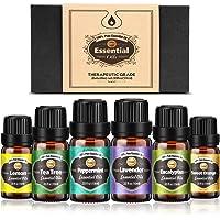 Innoo Tech Huiles Essentielles Aromathérapie 100% Pure et Naturelle, Huile Essentielle pour Diffuseurs Massage