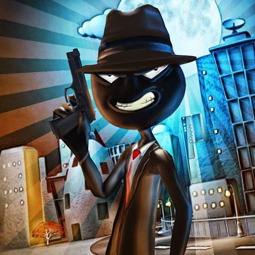 Regole di sopravvivenza Stickman Killer Simulator 3D: Miami Auto Theft Gangster Crime City Giochi di avventura di combattimento gratuito per i bambini