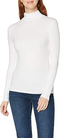 MERAKI T-shirt a Manica Lunga Donna, Tencel Modal