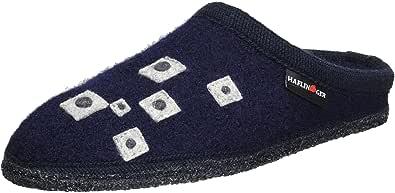 HAFLINGER Walktoffel Geo, Pantofole Unisex – Adulto