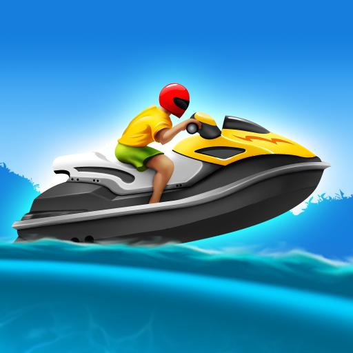 Tropical Island Boat Racing