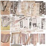 120Feuilles Autocollants Papiers Journal Bullet Scrapbooking Stickers Adhésif Etiquettes Vintage Décoratifs Artisanat Scrapbo