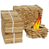 Premium Eiche Anmachholz (Neue Version 2020) – Besonders sauberes und trockenes Brenn-Holz – Ideales Anfeuerholz für eine kuschelige Raumwärme - Perfektes Zubehör um Brennholz im Kamin zu entfachen