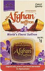 Ayoub Khan's Afghan Organically Grown Saffron/Kesar (1g, AKS02)