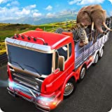 Wild Zoo Animales Transporte Truck Simulator 3D: Animal Transporter Cargo Offroad Truck Parking Racing Driving Driving Game 2018