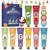 Set de Crema de Manos, Regalo de Navidad, Eleanore's Diary Set de Regalo de 8 PCS Crema de Manos y 4 PCS Bálsamo labial, Crem