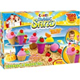 Craze 54179 - Magic Sand Icecream und Bakery Set, ca. 700 g