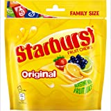 Starburst Original Fruit Chews Sweets, Family Size Pouch, 196 g