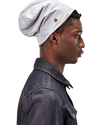 2fa31f5c3486f G-STAR Wysel Reversible Beanie Farbe  grey heath Größe  One Size ...