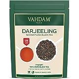 VAHDAM, hojas de té negro Darjeeling de Himalaya, 255 gramos (más de 120 tazas), té Darjeeling puro 100% certificado, té de h