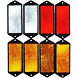 leisure MART LMX1625 Reflectors, Red, White and Amber Set