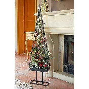 weihnachtsbaum metall schwarz wundersch ner. Black Bedroom Furniture Sets. Home Design Ideas
