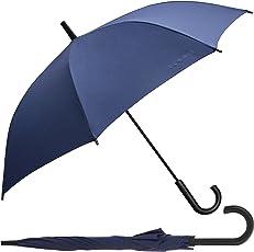 Esprit Long Handle Blue Umbrella with UV Coating