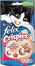 Felix Crispies Katzensnack, 8er Pack (8 x 45 g)