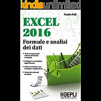 Excel 2016: Formule e analisi dei dati